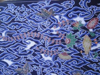 batik atau kata batik berasal dari bahasa jawa amba yang
